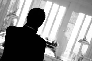 Silhouette of man - employee resignation obligations blog