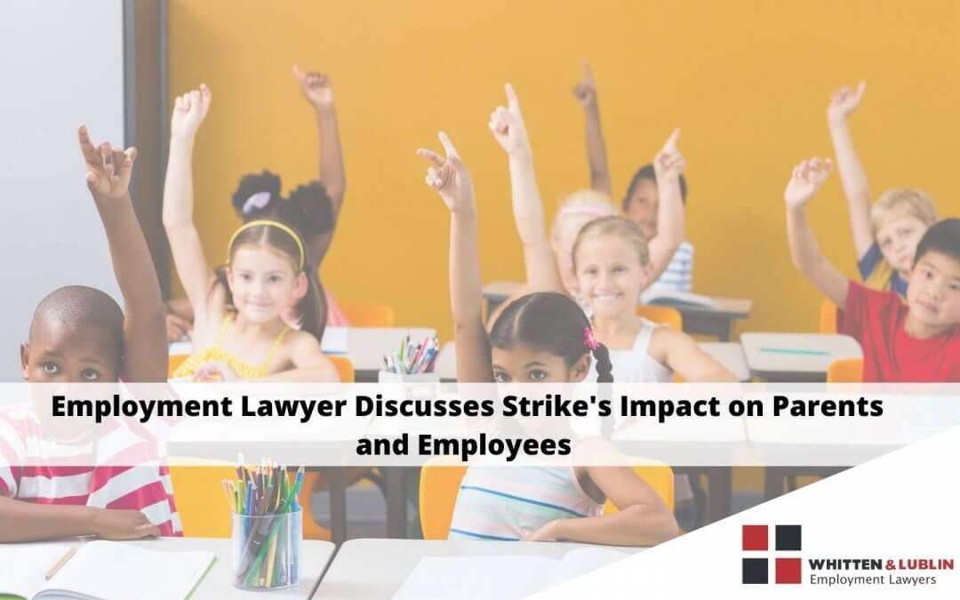 Employment Lawyer Discusses ETFO Strike's Impact on Parents and Employees