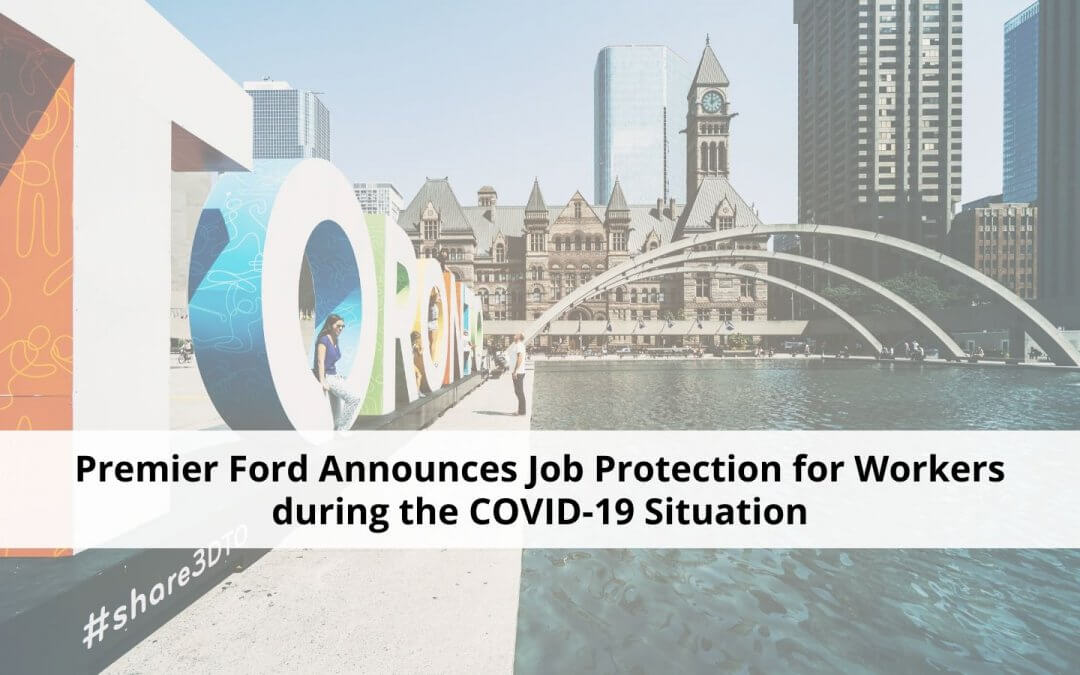 Premier Ford Announces Job Protection for Workers during the COVID-19 Situation