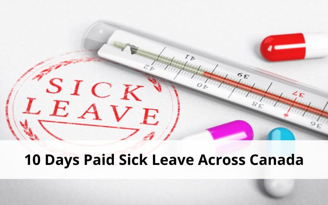 10 Days Paid Sick Leave – COVID-19 Updates