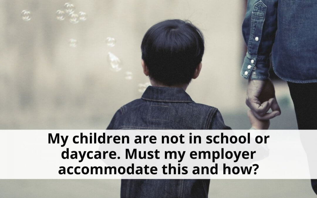 Parenting During COVID-19: Child Care Accommodation For Employees