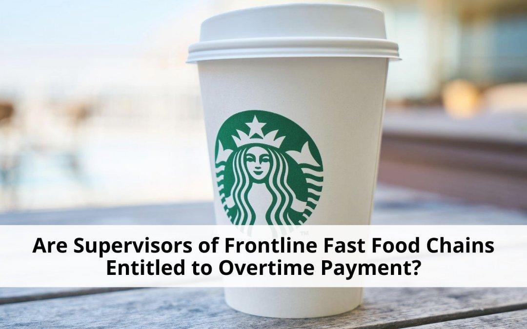 Class action lawsuit against Starbucks
