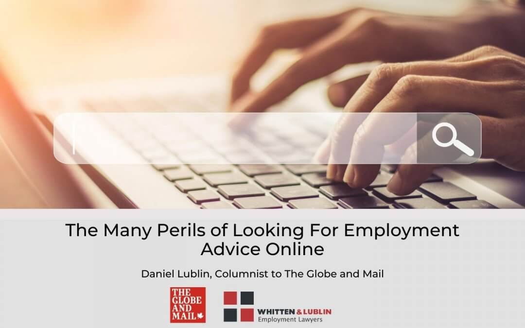 Employment advice online