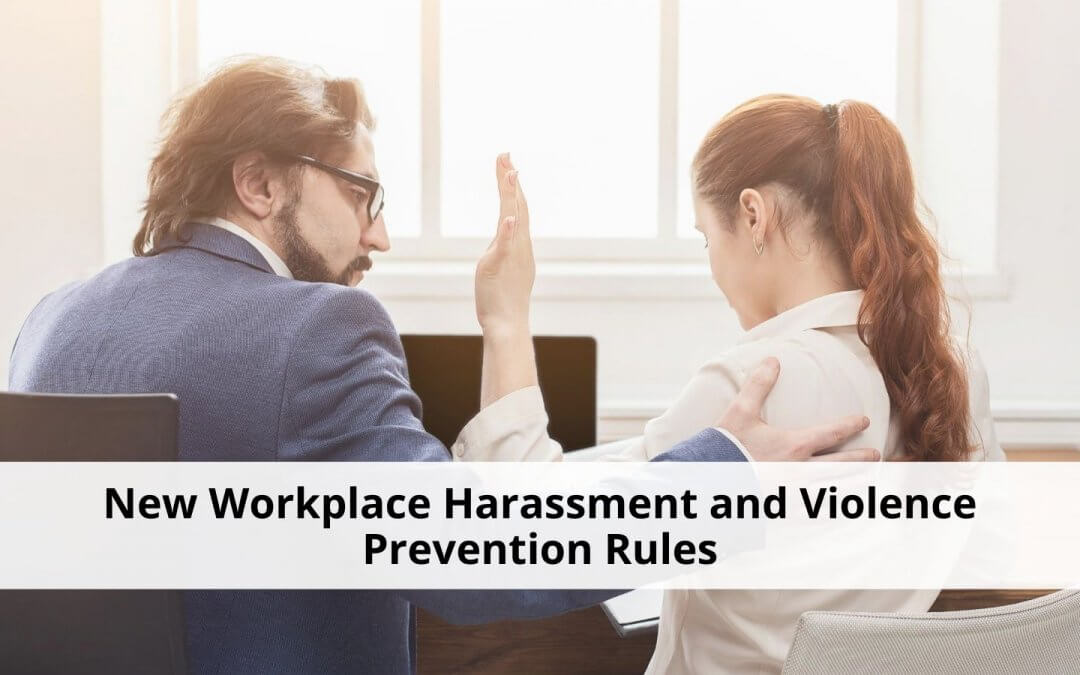 New Workplace Harassment and Violence Prevention Policy for Federally Regulated Employers
