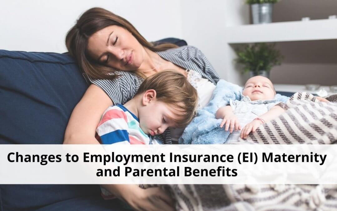 EI maternity and parental benefits