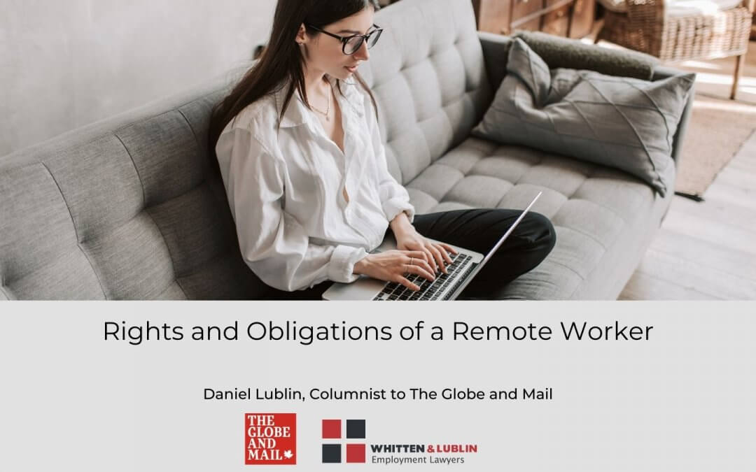 Rights and obligations of a remote worker