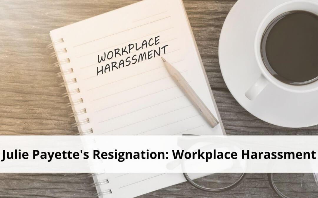 Julie Payette's Resignation