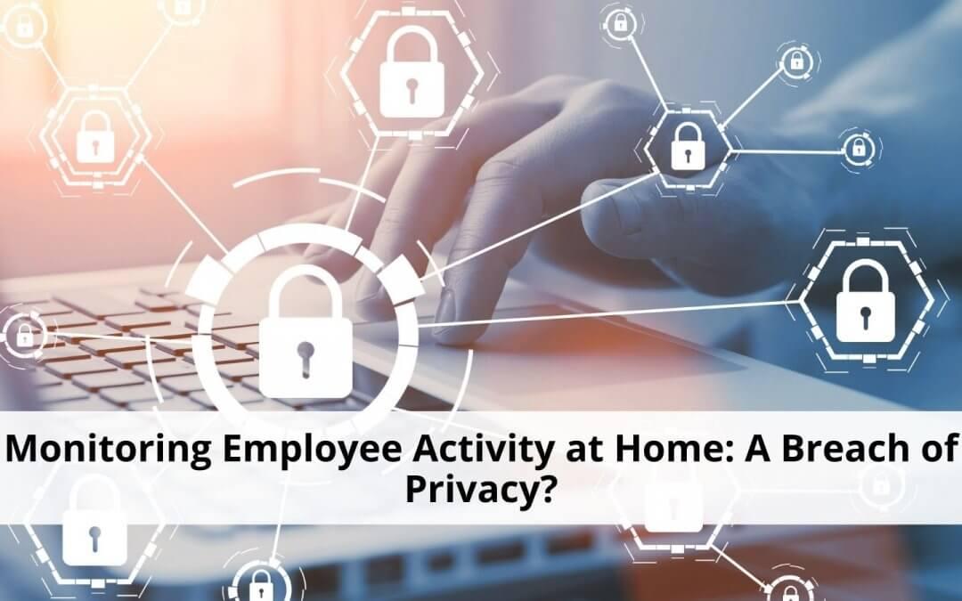 Monitoring employee activity