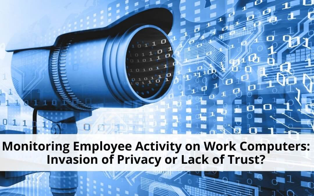 Monitoring employee activity on work computers