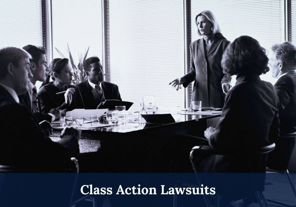Class action lawsuits