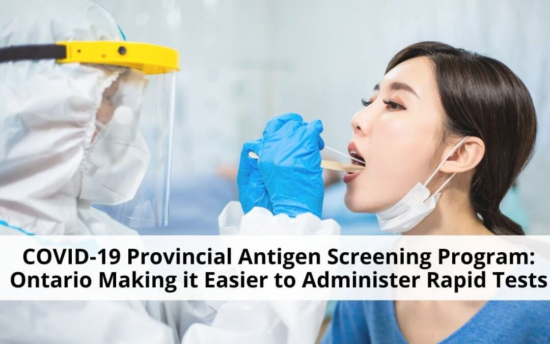 Provincial Antigen Screening Program