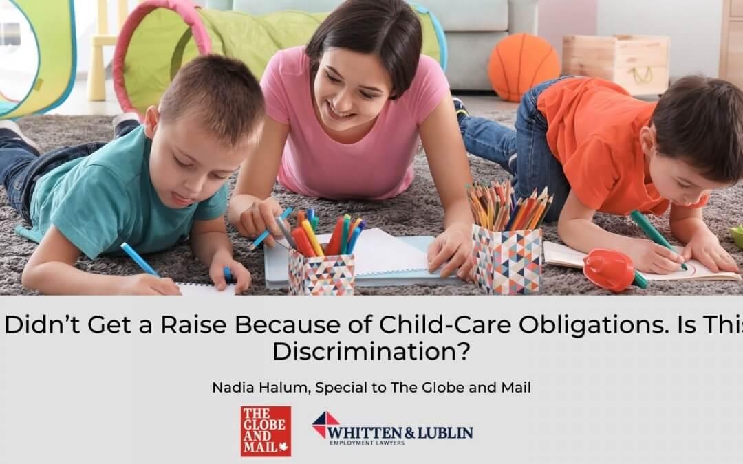 child-care obligations