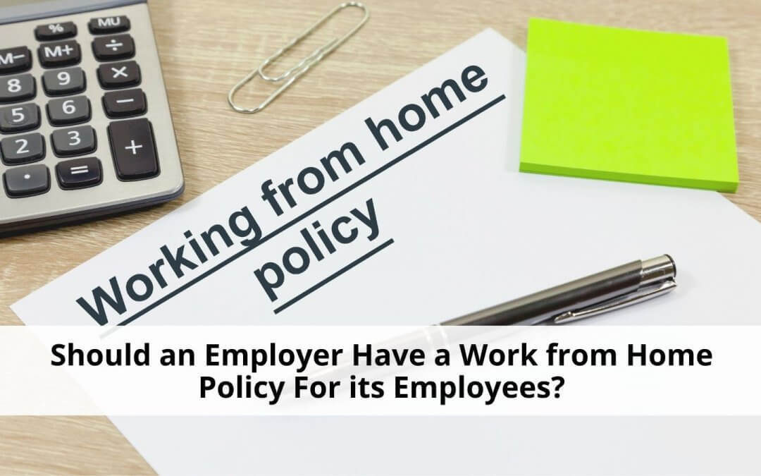 Work from Home Agreement