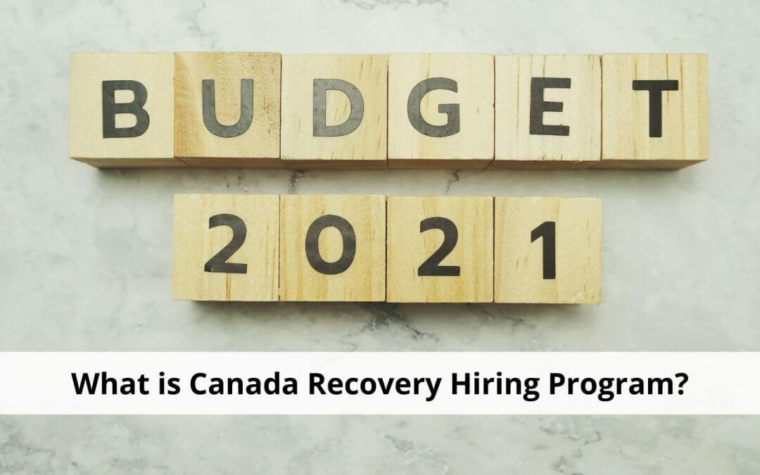 Canada Recovery Hiring Program