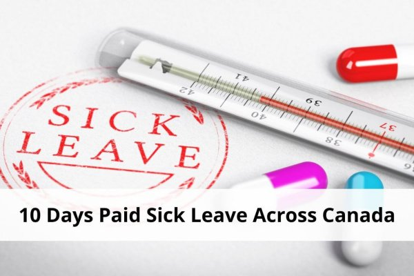 10 days paid sick leave