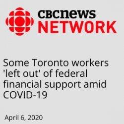 CBC - left out of CERB- April 6 2020
