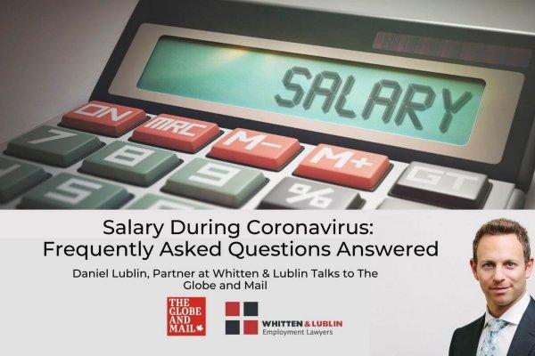 salary during Coronavirus